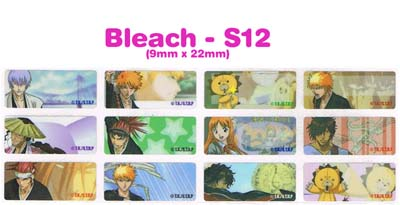 S12 100 pcs Bleach Sticker: (9mm x 22mm)
