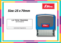 Shiny S855  Size: (25mm x 70mm)