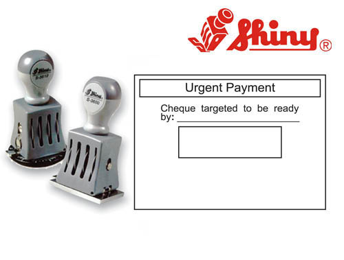 Dater Stamp: (48mm x 68mm)Without Ink Pad