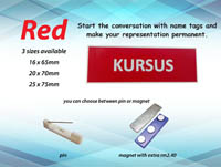 NT1665 RED (16mm x 65mm)