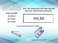 NT1665 WHITE (16mm x 65mm)